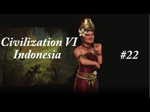 Civilization VI Indonesia Playthrough Episode 22 (Time to Build a Zoo!)
