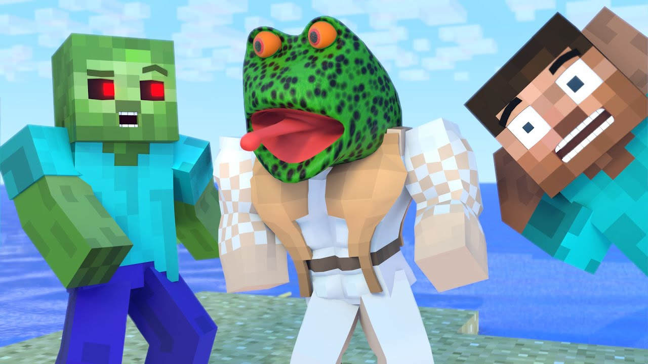 The minecraft life of Steve and Alex | Alex Frog | Minecraft animation