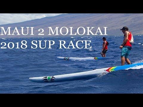 Maui 2 Molokai 2018, Downwind SUP Race M2M