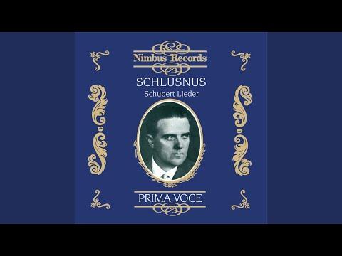 Schwanengesang, D. 957: No. 4, Ständchen (Recorded 1927)