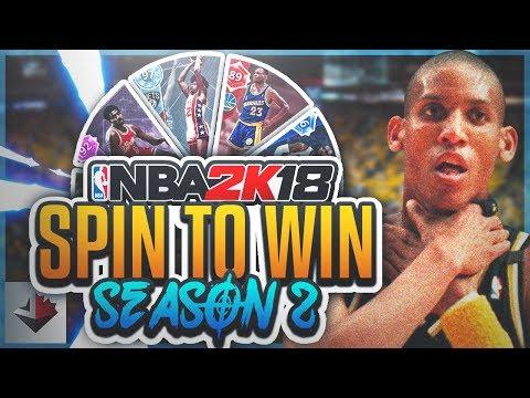 BIGGEST CHOKE EVER...NBA 2K18 SPIN TO WIN (S2E3)