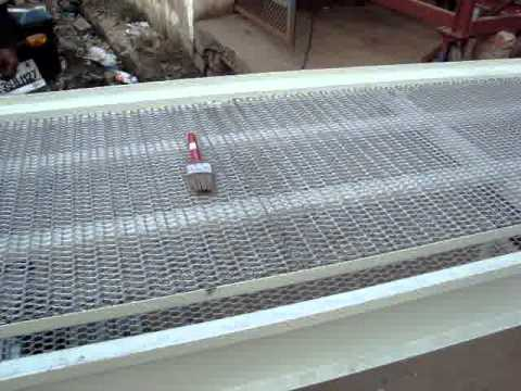 Wire Mesh Conveyor For Oven