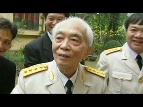 Reactions in Vietnam after death of national war hero General Giap.