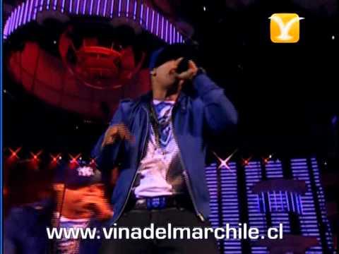 Daddy Yankee, Machucando, Festival de Viña 2009