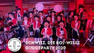 Schwiiz, die rot-wissi Guggeparty 2020 - Sambaschränzer Buebädorf