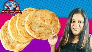 பரடட சயவத எபபட  How To Make Soft Flaky Parotta  Tasty Paratha
