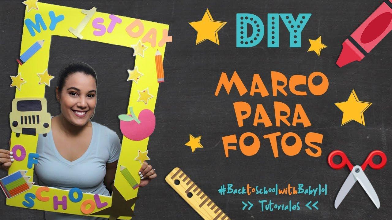 Marco para Foto - Cabina para fotos - Tutorial Back to School #1 ...