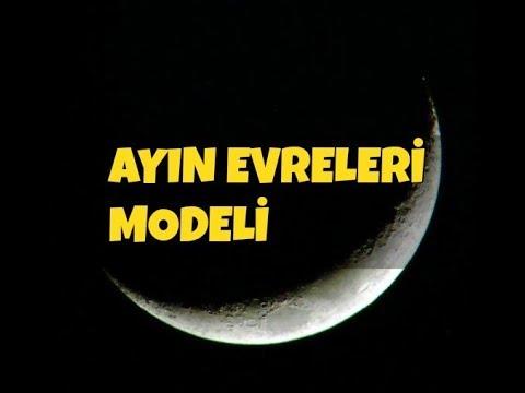 Kutudaki Ay Etkinliği Ayın Evrelerini öğreniyorum Youtube