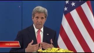 Ông Kerry nói: TQ vẫn khiêu khích ở Biển Đông sẽ buộc Mỹ hành động