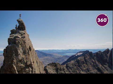 Climb the Cuillin Ridge l 360 video