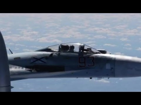 Russian Fighter Jet Intercepts U.S. Surveillance Plane