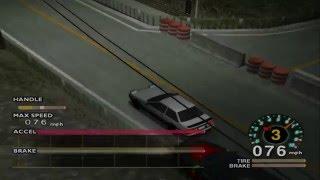 Tokyo Xtreme Racer Drift 2: Hakone Downhill Run VS Ground Zero w/o Brakes