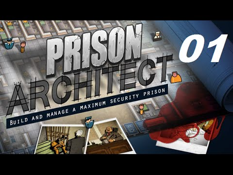 Tutorial/Dicas - Prison Architect - Ep. 001 - Primeiro Gameplay do canal \o/ - KamiKaze Play