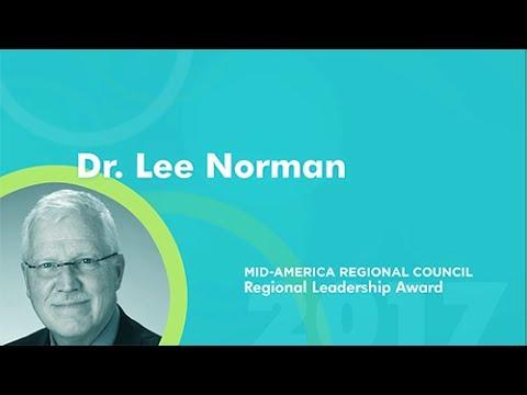 MARC's 2017 Regional Leadership Award Honoree - Dr. Lee Norman