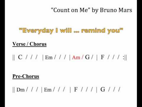 """Count On Me"" Moving Chord Chart"