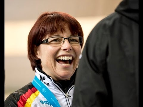 Interview 10m Air Rifle Women - ISSF World Cup in all events 2012, London (GBR)