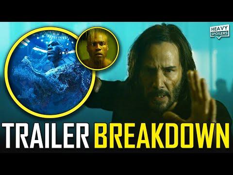 THE MATRIX 4 Resurrections Trailer Breakdown, Story Explained, Plot Leaks, Theories & Easter Eggs