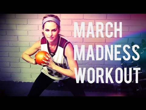 12 Minute March Madness Cardio Workout