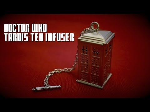 Doctor Who TARDIS Tea Infuser from ThinkGeek