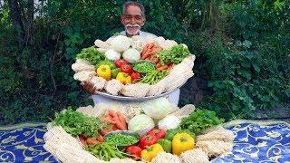Veg Noodles Recipe | Vegetable Hakka Noodles | Chow mein Noodles Recipe | Grandpa Kitchen