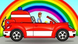 Мультики для малышей - Маша, Пома и Пожарная машинка.