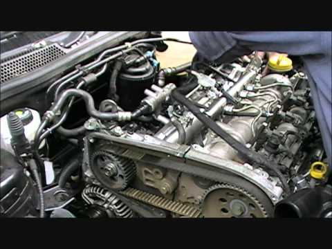 Vectra 1 9 Cdti Inlet Manifold And Cambelt Change Youtube