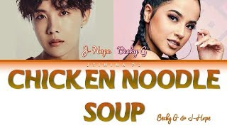 J-Hope -  'Chicken Noodle Soup (feat. Becky G)' Lyrics (Color Coded_Han_Rom_Eng_Esp)