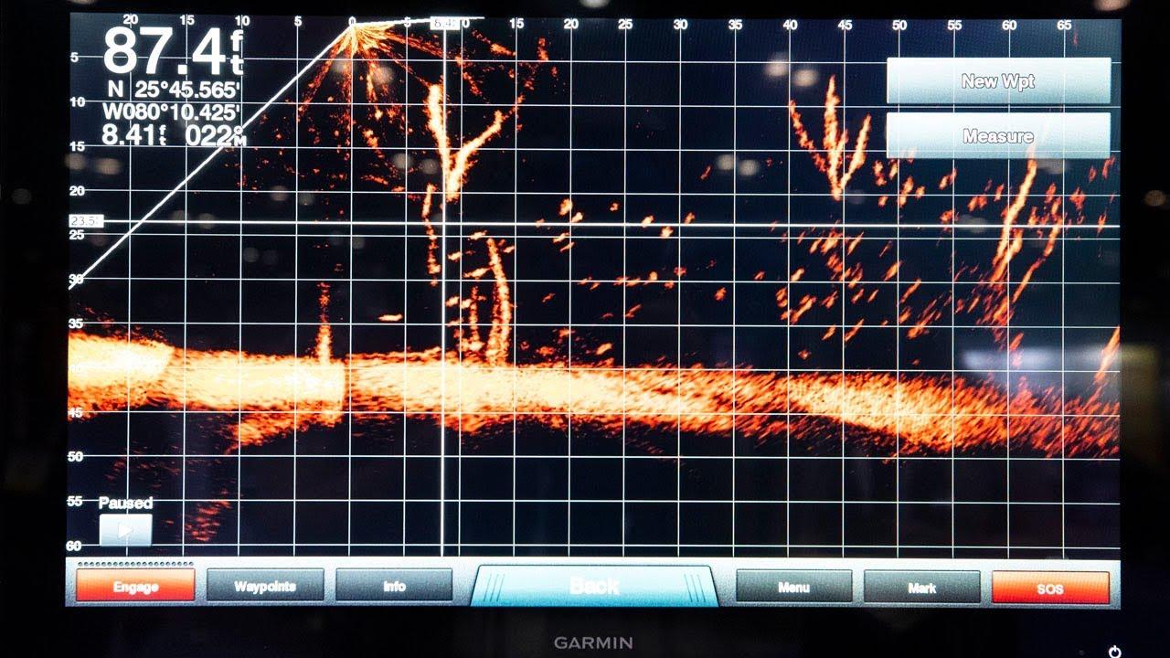 Realtime Fishing With Panoptix Livescope Sonar From Garmin