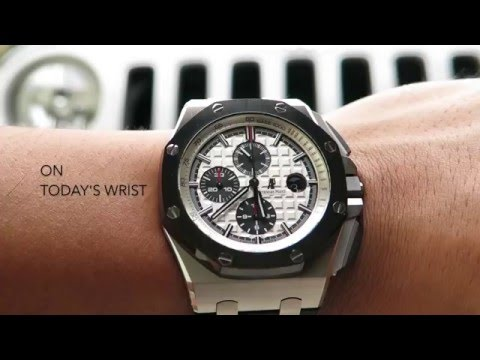 "DavidSW ""On Today's Wrist"" - AP Royal Oak Chronograph ""Panda Dial"""