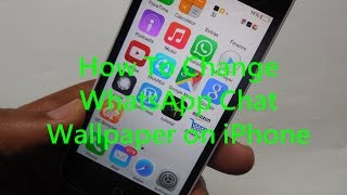 Gambar cover How to Change WhatsApp Chat Wallpaper on iPhone, Apple iPhone X, iPhone Xs, iPhone XR 2020