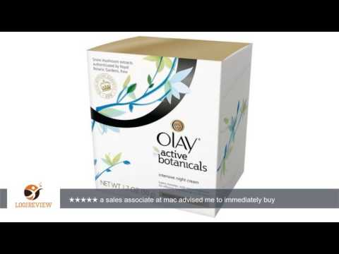 Olay Active Botanicals Intensive Night Cream, 1.7 Oz | Review/Test