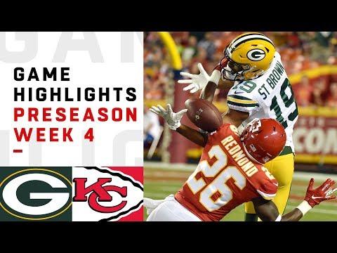 Packers vs. Chiefs Highlights | NFL 2018 Preseason Week 4