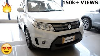 SUZUKI VITARA 2018 MODEL || FULL AND FINAL REVIEW || WHITE COLOR