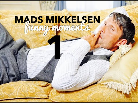 Mads Mikkelsen  Cute and funny moments