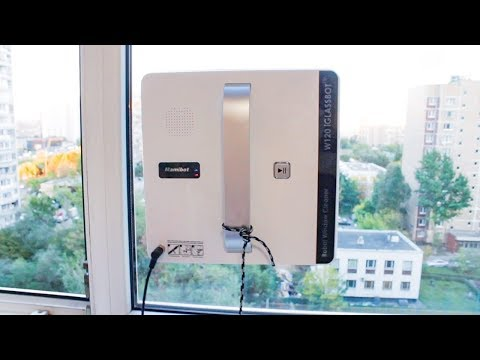 Умный робот для мытья окон Mamibot iGlassbot W120