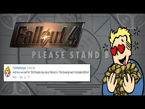 """SHIT PEOPLE SAY ABOUT FALLOUT 4 - The """"Gone Gold"""" Edition! - 동영상"""