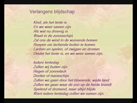 Adriaan Roland Holst Gedicht Verlangens Blijdschap