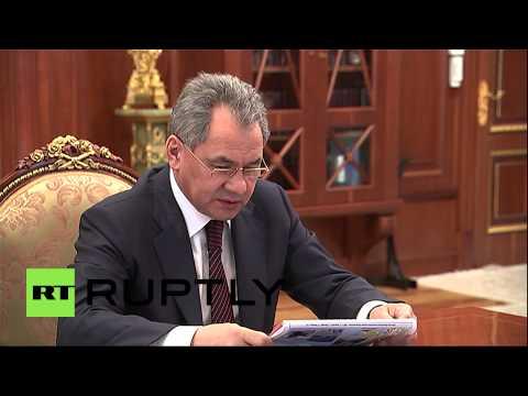 "Russia: Shoigu meets Putin, hails success of ""sudden"" Arctic military drills"
