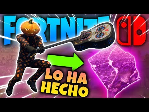 El Cubo Ya Se Ha Roto Mira Fortnite Para Nintendo Switch En Vivo