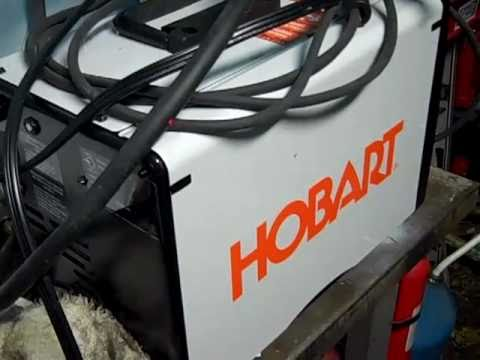 New welder Hobart 125 EZ - YouTube