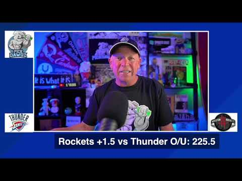 Houston Rockets vs Oklahoma City Thunder 8/18/20 Free NBA Pick and Prediction NBA Betting Tips