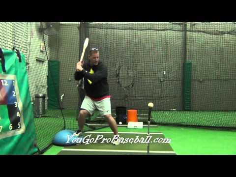 Baseball Hitting Drills - Angled Back Leg Hitting Drill