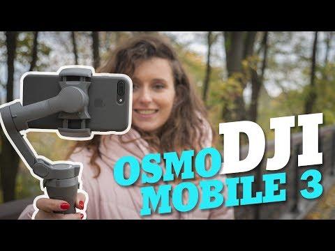 DJI Osmo Mobile 3 – суперстаб для смартфона