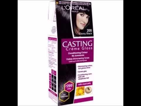 Loreal ebony black hair color
