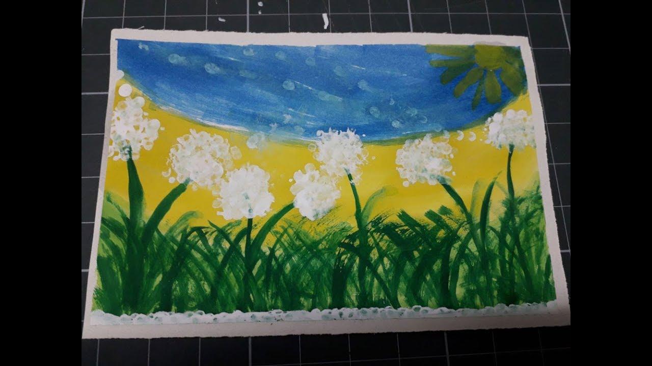 Vẽ tranh bằng tăm bông | SuSi Tv