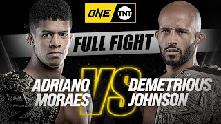 Adriano Moraes vs. Demetrious Johnson | ONE Championship Full Fight