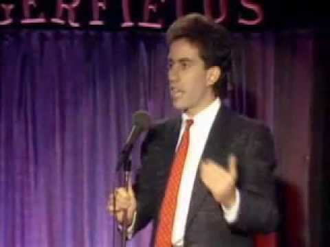 Jerry Seinfeld Stand Up Comedy Youtube
