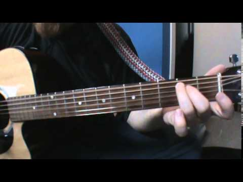 How to play last flowers by Radiohead on acoustic guitar
