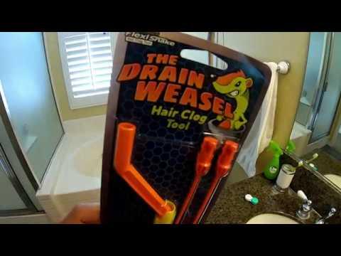 Flexisnake Drain Weasel Review Youtube