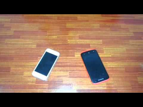 Comparison of iPhone 5 and Lenovo S820